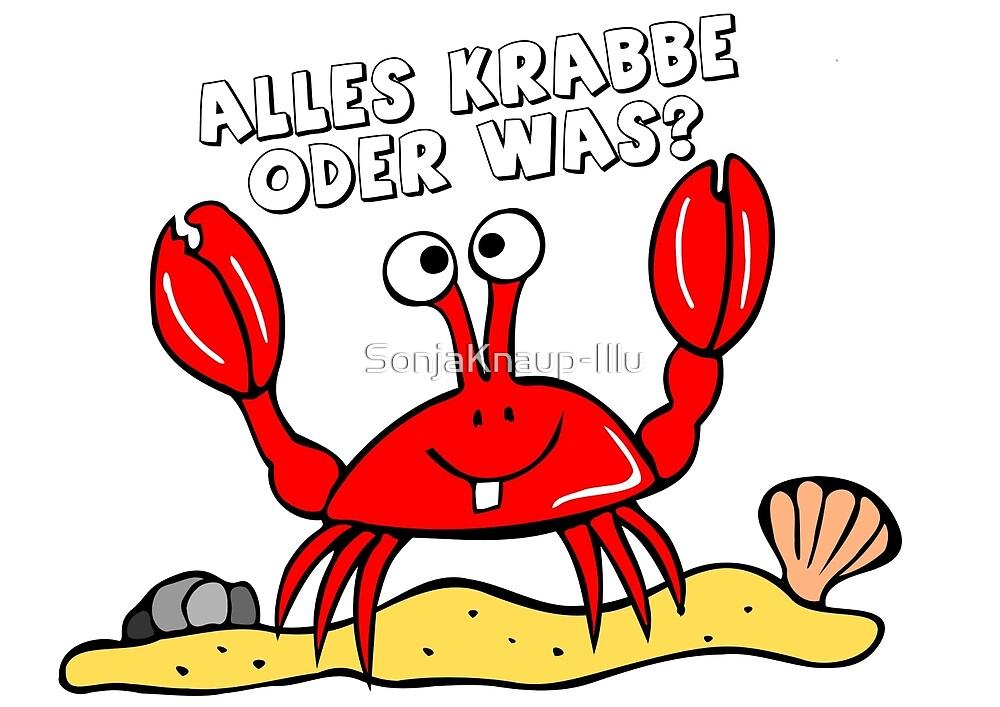 krabbi by SonjaKnaup-Illu