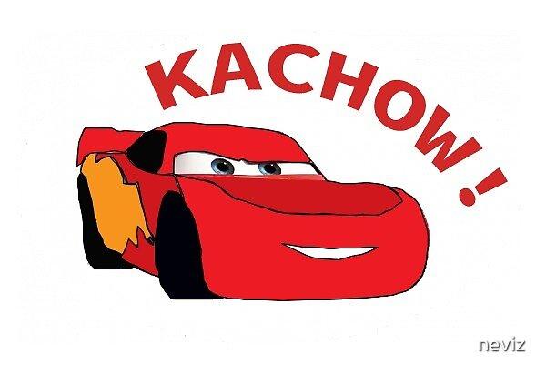 Kachow! - Lightning Mcqueen Meme Design by neviz