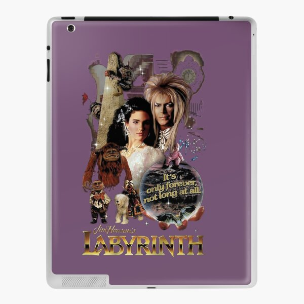The Labyrinth it's only forever not long at all iPad Skin