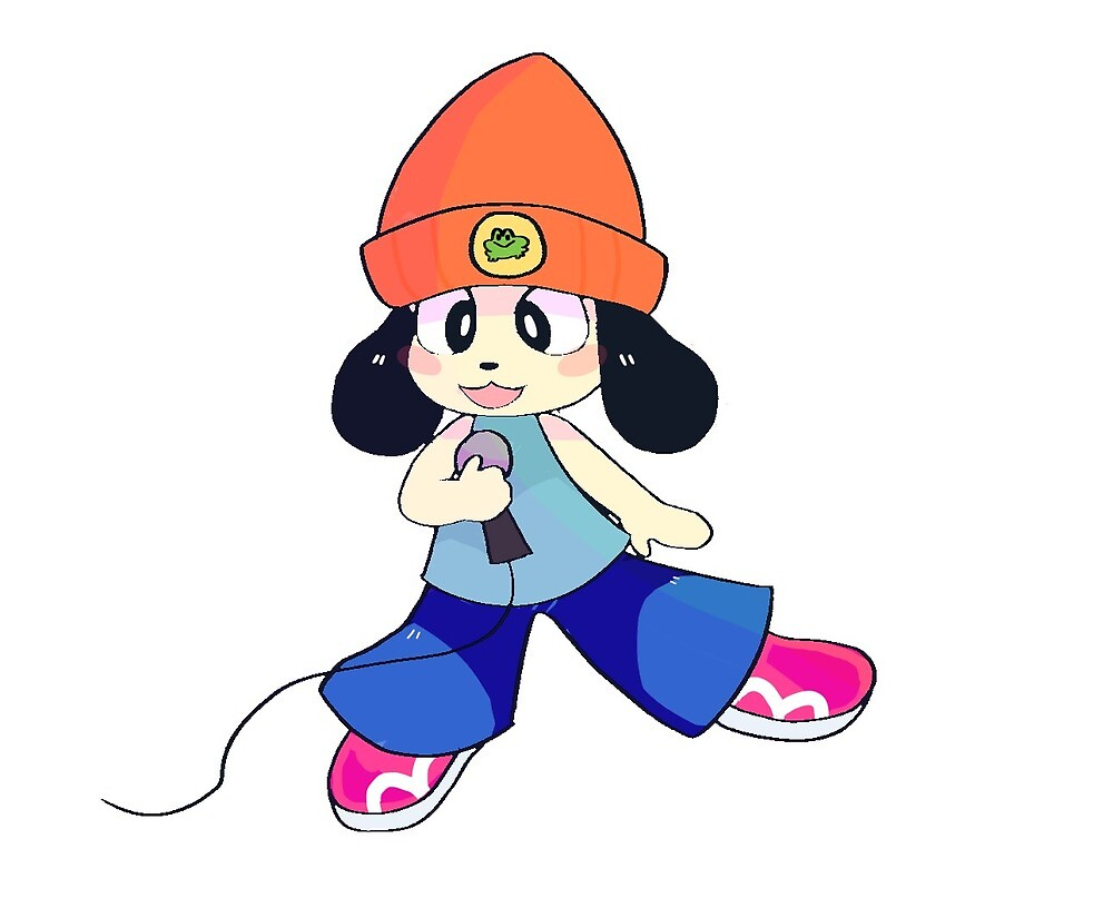 parappa the rappa (no background) by nickatoo