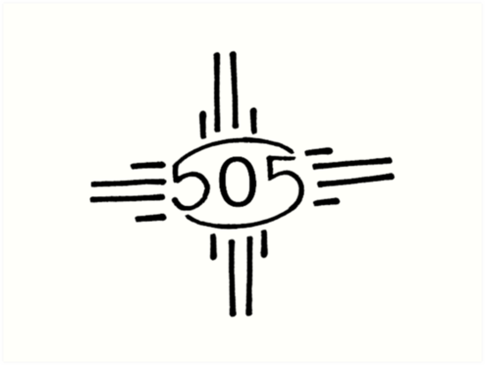 Zia Symbol New Mexico Art Prints By Ukulany Redbubble