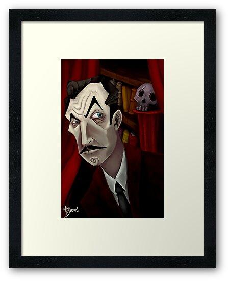 Mr. Vincent Price by Michael Bombon