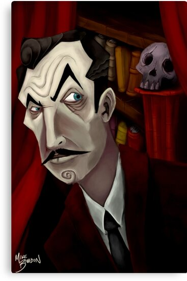 Mr. Vincent Price by Michael Bombon