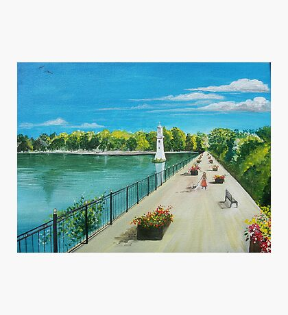 Roath Park, South Wales  Photographic Print