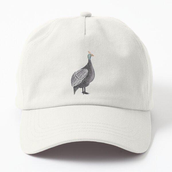 """Guinea Fowl""   Noisy African Bird Dad Hat"