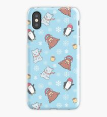Cute Winter Pattern  iPhone Case
