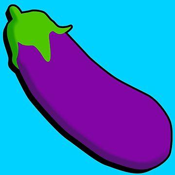 Eggplant Emoji by introducingme