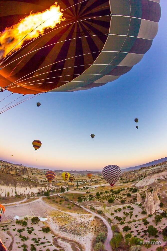 Cappadocia Hot Air Balloon I by laurarose
