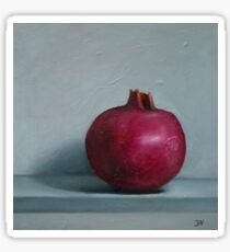 Still life with pomegranate  Sticker
