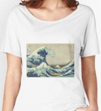 Hokusai Katsushika - Great Wave off Kanagawa Women's Relaxed Fit T-Shirt