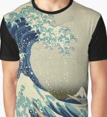 Hokusai Katsushika - Great Wave off Kanagawa Graphic T-Shirt