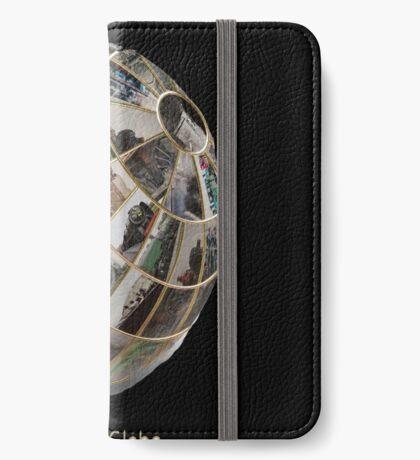 Steam Globe iPhone Wallet