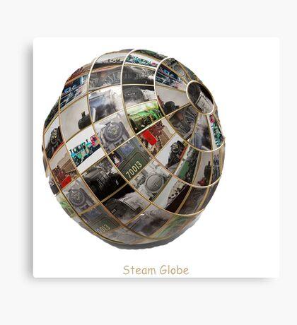 Steam Globe Canvas Print