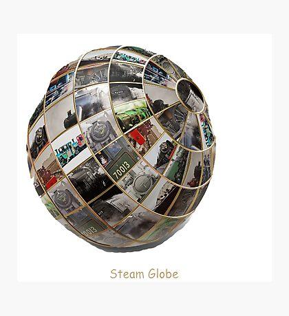 Steam Globe Photographic Print