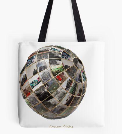 Steam Globe Tote Bag