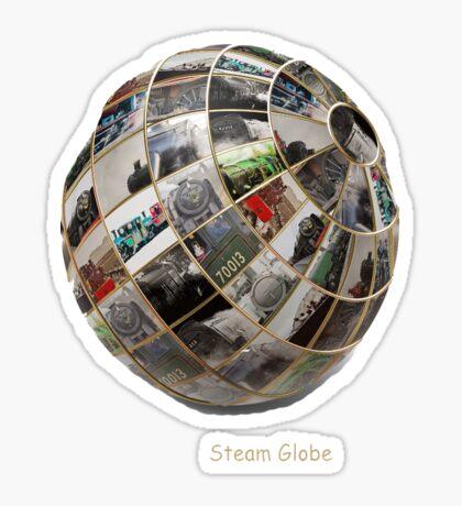 Steam Globe Sticker