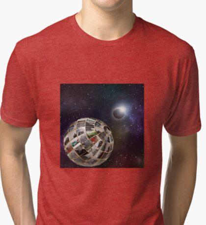 Steam planet  Tri-blend T-Shirt