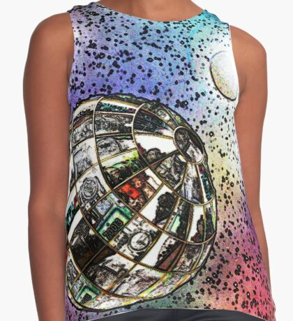 Steam planet in chalk Contrast Tank