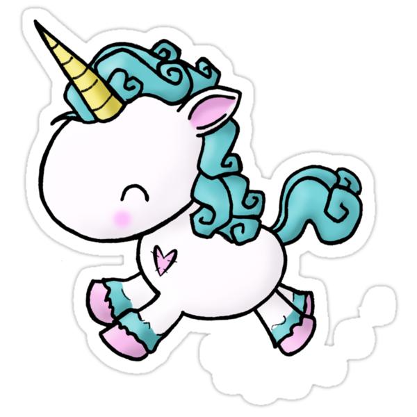Prancing Unicorn Stickers By Bianca Loran Redbubble