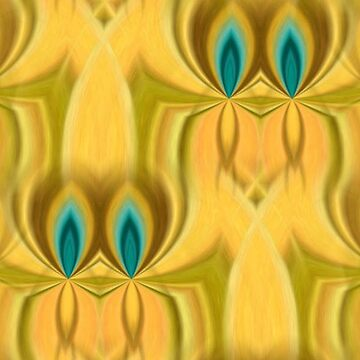 Peacock twin flames pattern by ARTDICTIVE