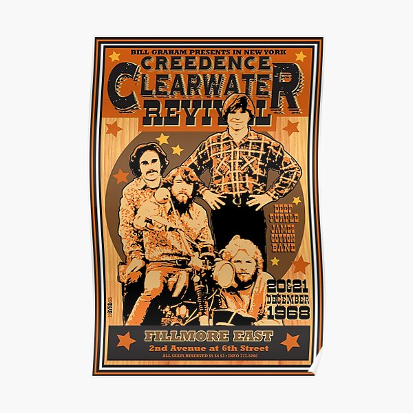 Crendence Clearwater Revival Poster