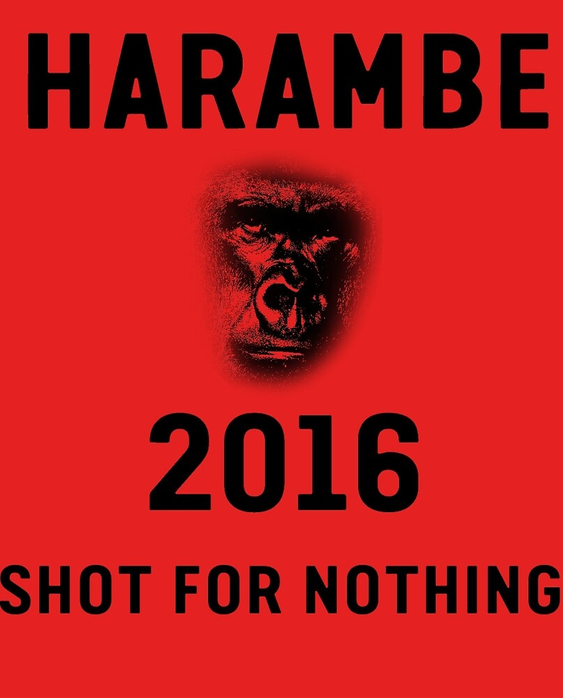 HARAMBE 2016 Shirt by FennoOceanic