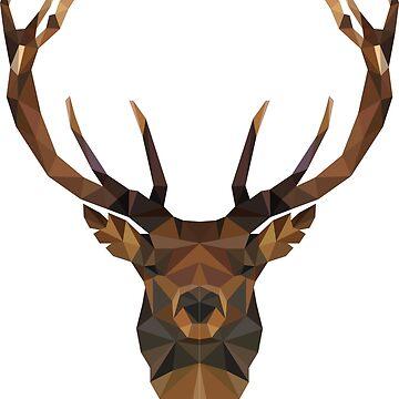 red deer by MaeP