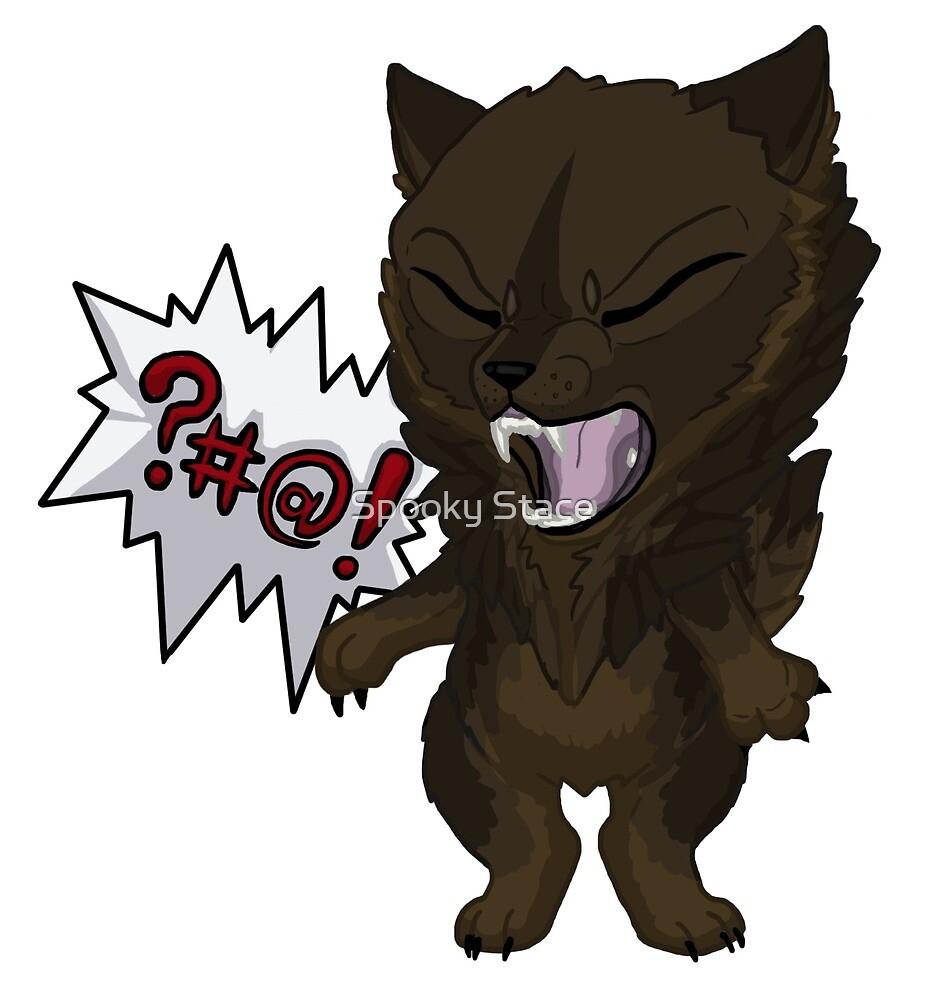Swearwolf - brown by Murder-Mistress