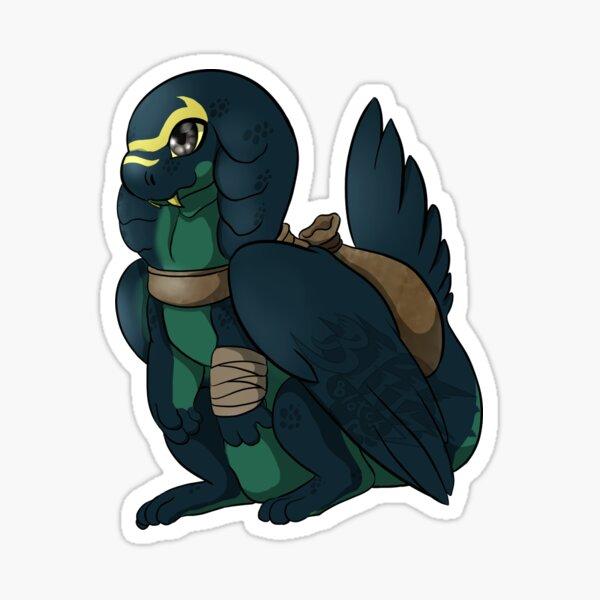 Fosser the Dragon sticker Sticker