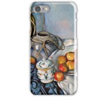 Paul Cezanne - Still Life with Apples (1893 - 1894)  iPhone Case/Skin