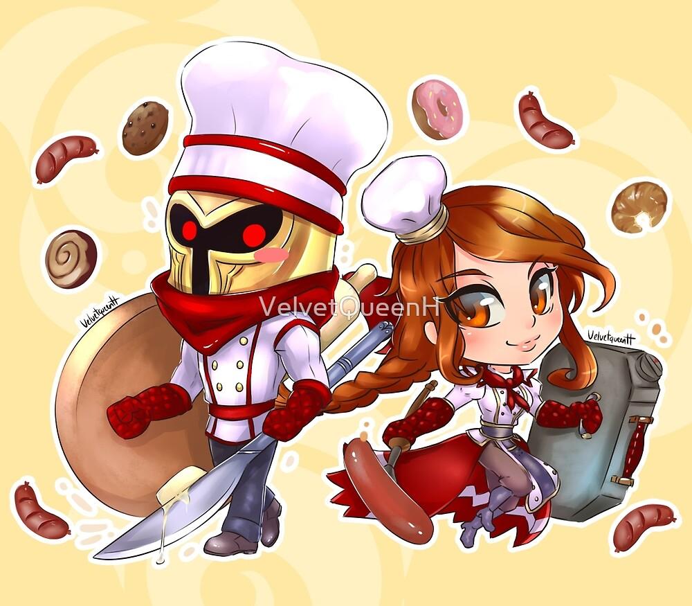 LOL - Baker & BBQ by VelvetQueenH