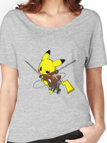 Shingeki No Pika! Women's Relaxed Fit T-Shirt