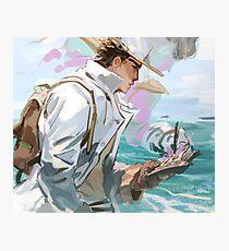 Ocean man Photographic Print