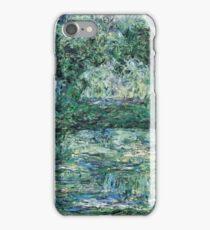 Claude Monet - The Japanese Bridge (1914 - 1917)  iPhone Case/Skin