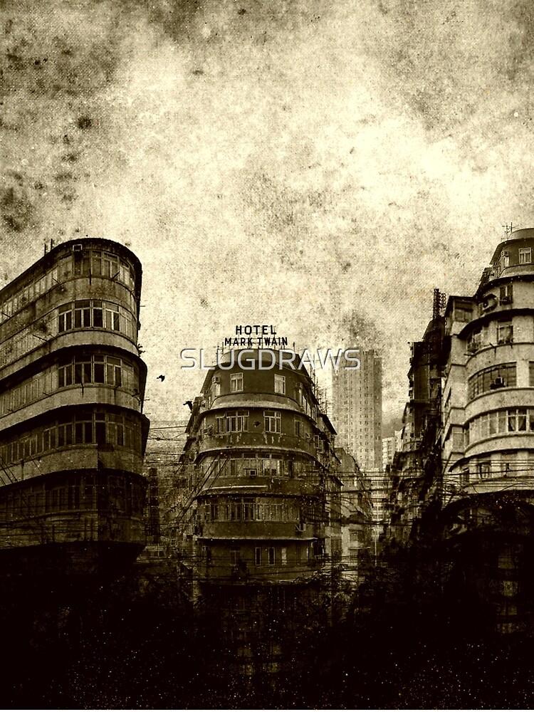 city studies by SLUGDRAWS
