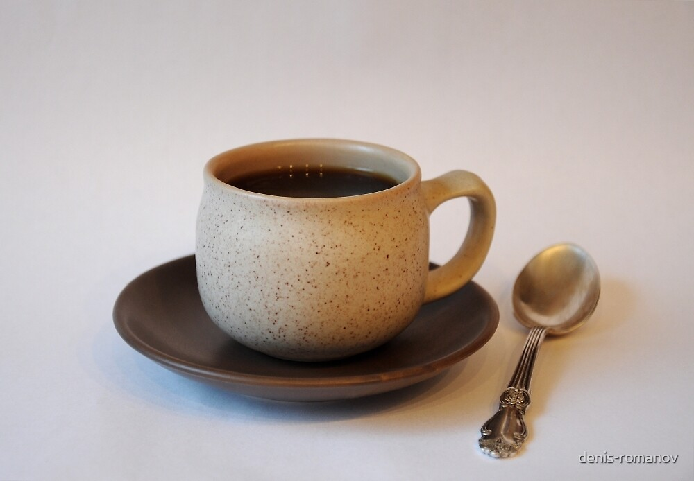 Coffee Cup with a Spoon by denis-romanov