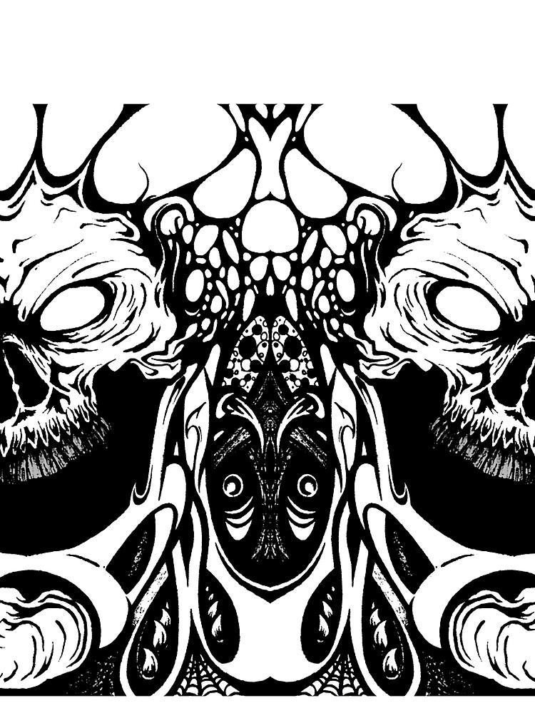 metal skull remix by rizkymaulida