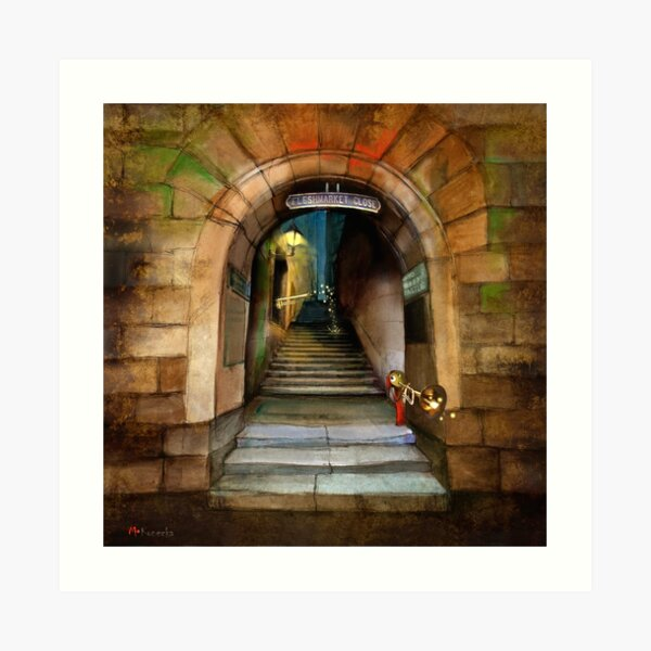 'The Way to The Castle' Art Print