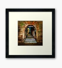 'The Way to The Castle' Framed Print