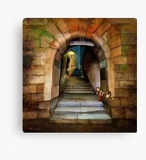 'The Way to The Castle' Canvas Print