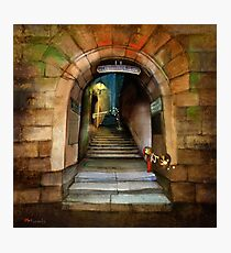 'The Way to The Castle' Photographic Print