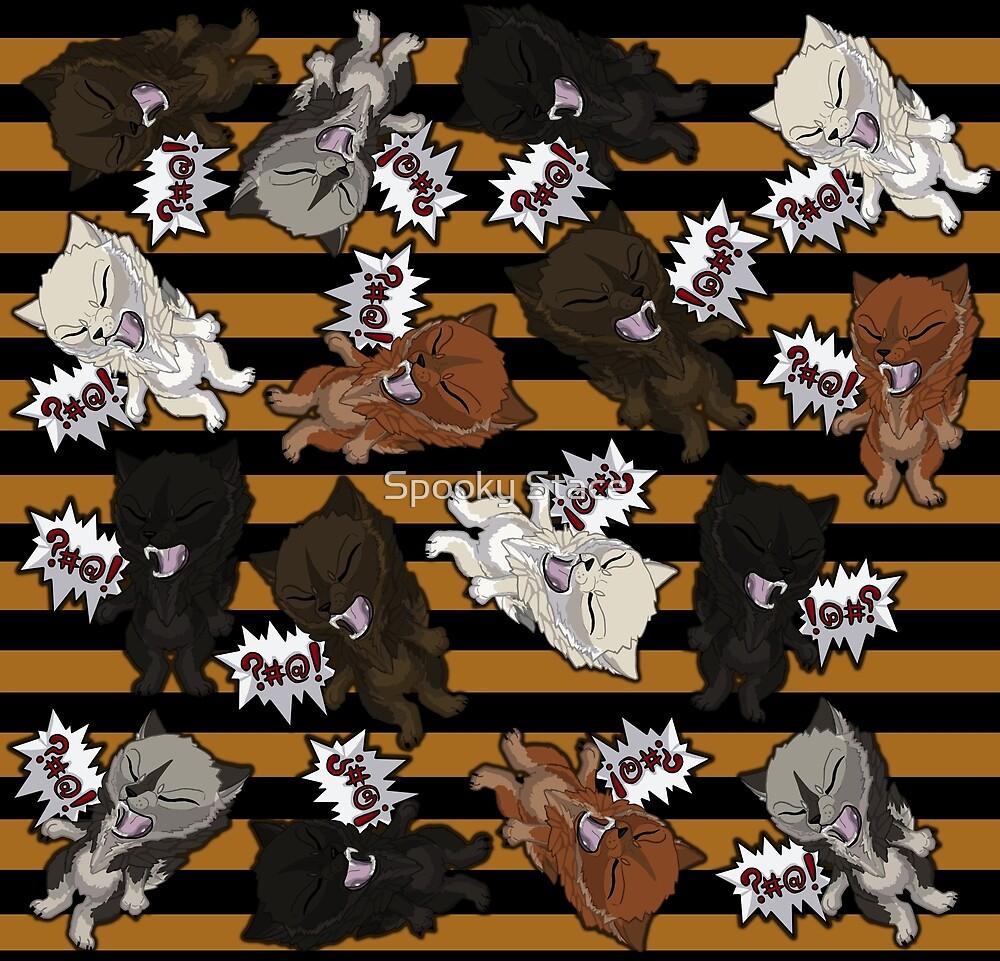 Swearwolves - orange by Murder-Mistress