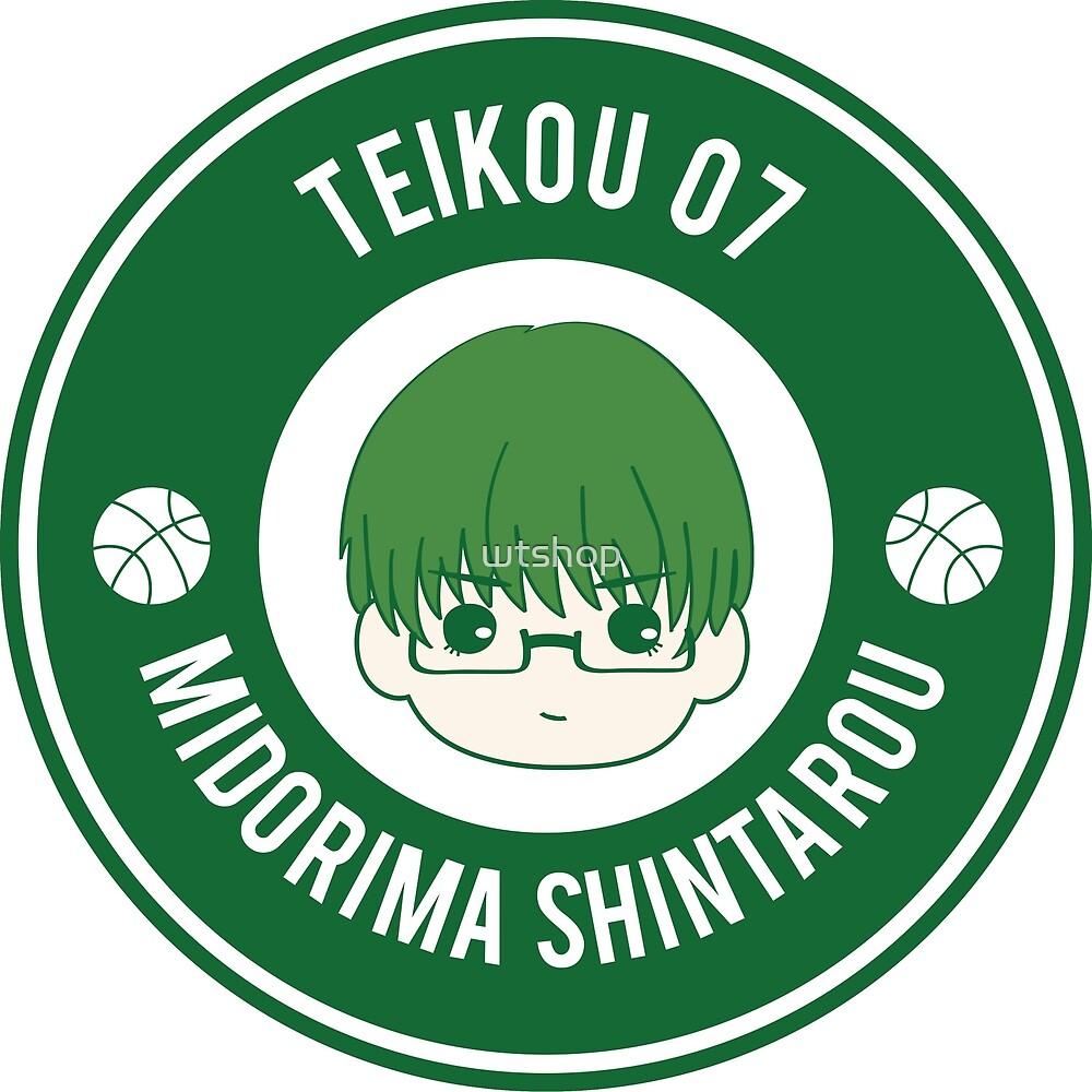 KNB Badge - Teikou 7 Midorima Shintarou by wtshop