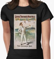 Performing Arts Posters George Thatchers Minstrels allied with Rich Harris Comedy Co in Tuxedo by Ed Marble 1745 T-Shirt