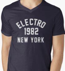 Electro Men's V-Neck T-Shirt