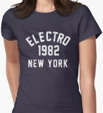 Electro Women's Fitted T-Shirt