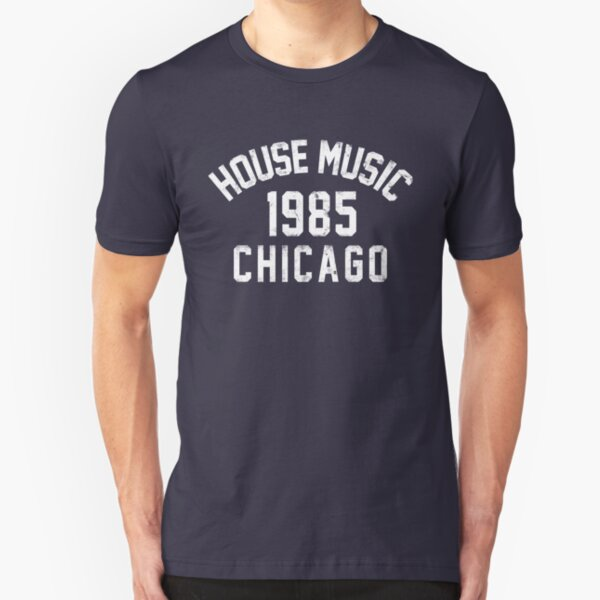 House Music 1985 Chicago Funny Womens Ladies T-Shirt