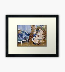 Renoir Auguste - Childrens Afternoon at Wargemont (1884)  Framed Print