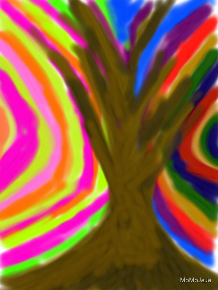 Hug a tree by MoMoJaJa