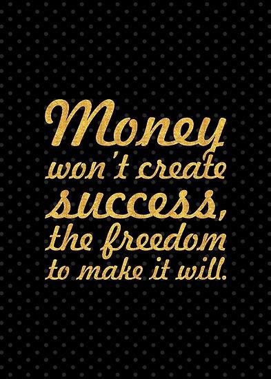 "Money won't create... ""Nelson Mandela"" Inspirational Quote by Powerofwordss"